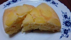 おやつも節約、炊飯器で作るかんたんりんごケーキ